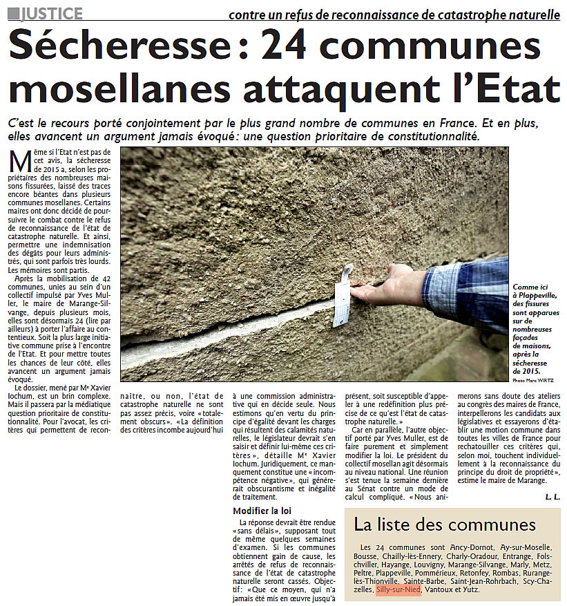 RL 2017 05 06 Secheresse 24 communes attaquent