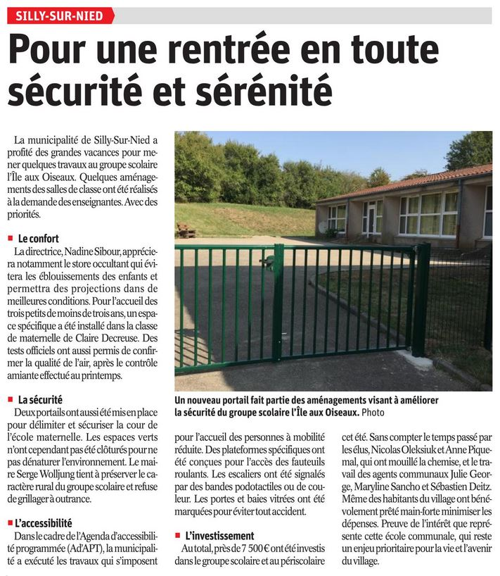 RL 2018 08 30 Rentree securite serenite