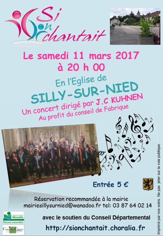 Chorale Si on chantait 2017
