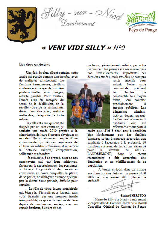 "Gazette ""Veni Vidi Silly"" N°9"