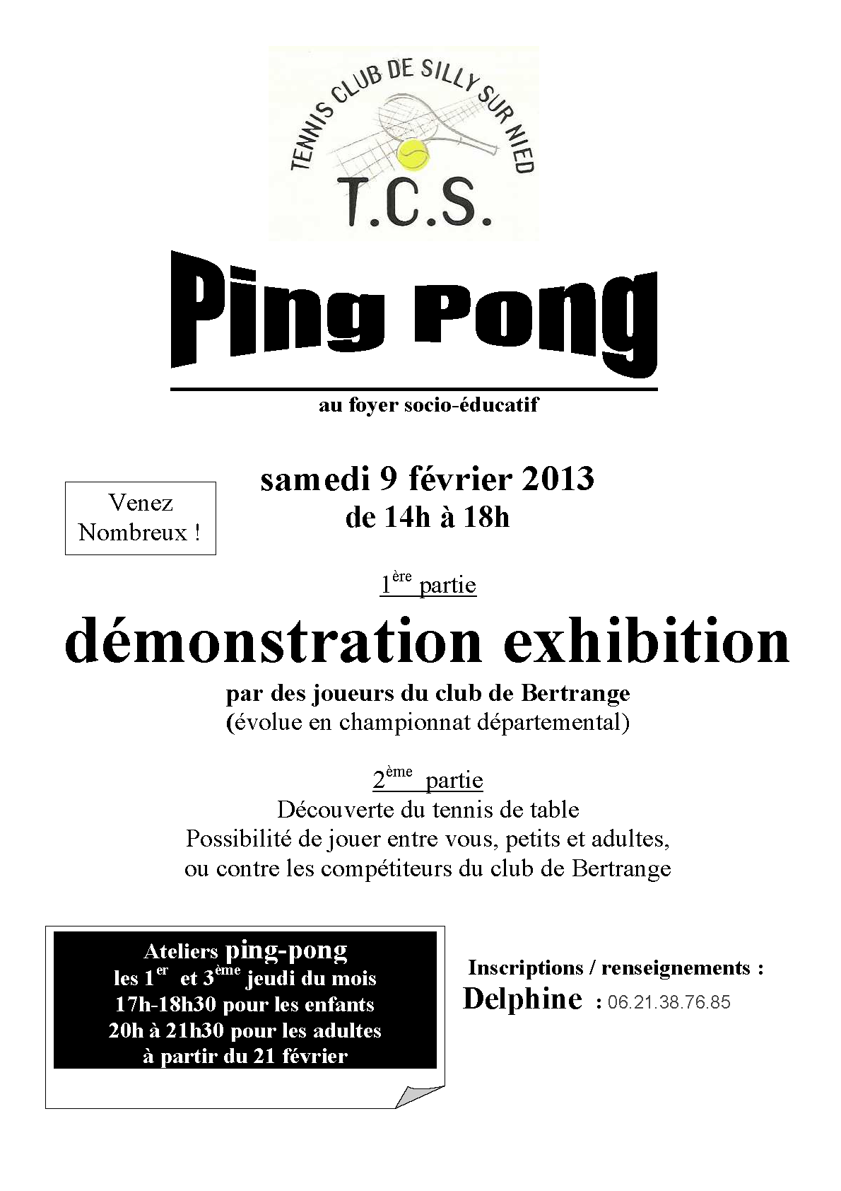 Ping Pong - Démonstration Exhibition 2013